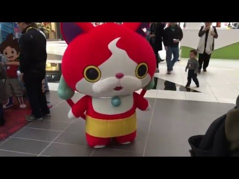 Yo-Kai Watch's Jibanyan in real life