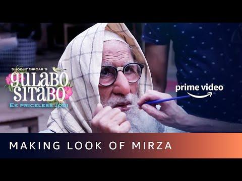 Making look of Mirza for Amitabh Bachchan | Gulabo Sitabo | Shoojit Sircar, Ronnie Lehri | June 12