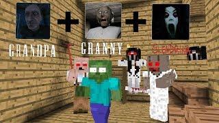 Video Monster School: Grandpa+Granny+Slendrina - Minecraft Animation MP3, 3GP, MP4, WEBM, AVI, FLV Juni 2018