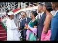 Kagame Amp Family Bid Farewell To Inauguration Guests