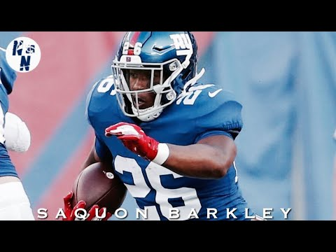 Saquon Barkley NFL Preseason Week 1 Highlights  ᴴᴰ