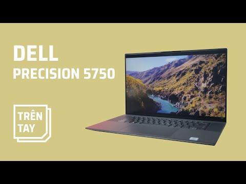 Mở hộp Dell Precision 5750