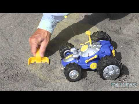Ranger Remote Controlled Metal-Detector Car | Solutions.com