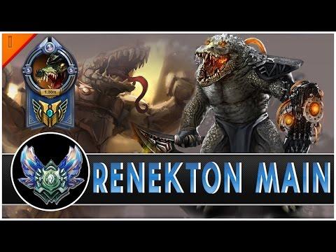 Highlight game thủ chuyên Renekton 1 triệu 4 thông thạo