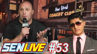 SEN Live from NEW YORK with guests Matt Serra and Andrew Ghai! by Schmoes Know