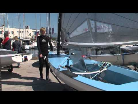 Finn Europeans 2015 - Opening and practice race