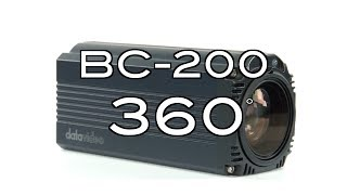 【360 Product Video】BC-200 4K Block Camera
