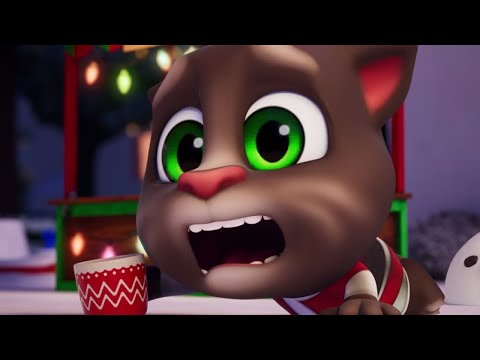 Wild Holidays in My Talking Tom Friends' house. 🎅🎄 (NEW GAME TRAILER)
