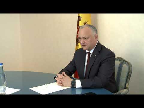 Igor Dodon a convocat o ședință cu președinții comisiilor de profil din cadrul Consiliului Societății Civile