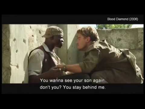 """clip10 """"It's as I said, you will say anything""""-Blood Diamond (2006)"""