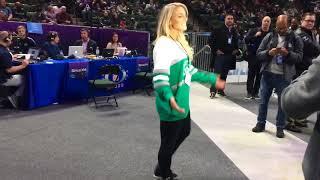 Super Bowl 2018: USWNT star Julie Ertz, wife of Philadelphia Eagles tight end, displays her skill...