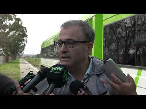 Pedro Pesatti: llegada de la nueva formación 0 km. del Tren Patagónico