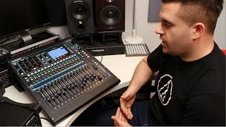 Alex from Allen & Heath talks us through the features of the QU-16, describing the main functions of the desk in some detail, and...