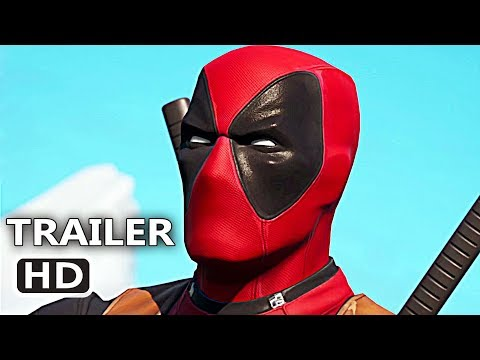 DEADPOOL in FORTNITE Official Trailer (2020) Video Game HD