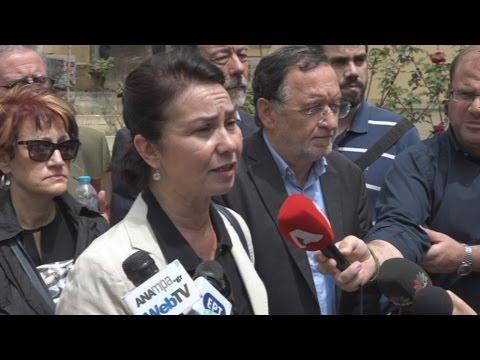 Μήνυση για τον τραυματισμό της στο συλλαλητήριο της Κυριακής κατάθεσε η Σ. Παπαδόγιαννη
