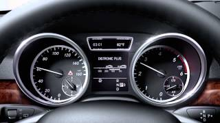 PRE-SAFE And DISTRONIC PLUS Vehicle Safety Technology -- Mercedes-Benz 2013 ML-Class