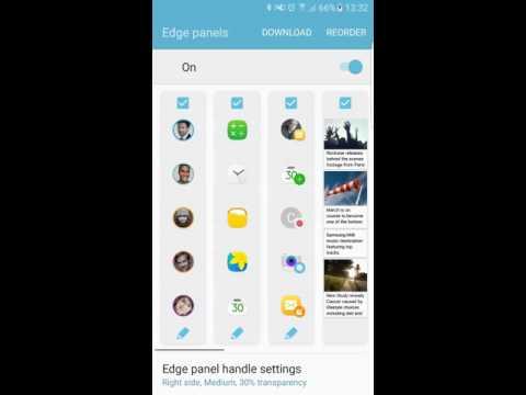 Samsung's New Edge Panel UX