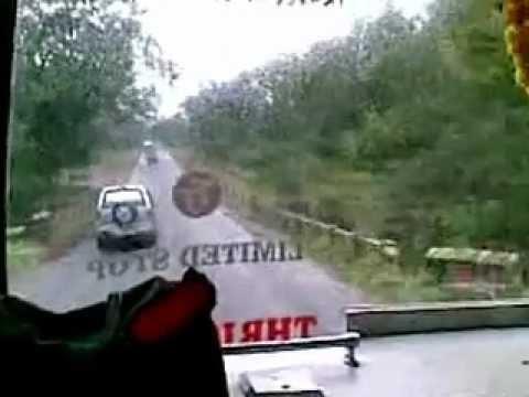 Kerala Bus - KERALA BUS RACE AMAZING VIDEO.