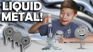 Video PLAYING WITH LIQUID METAL!!! Melting Gallium Fidget Spinner Experiment! MP3, 3GP, MP4, WEBM, AVI, FLV Desember 2017