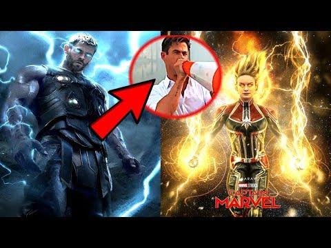 Avengers 4 TITLE REVEALED! & Thor's New Weapon Breakdown!