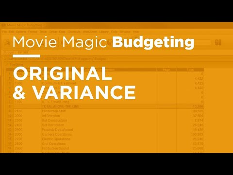 how to calculate budget variance percentage