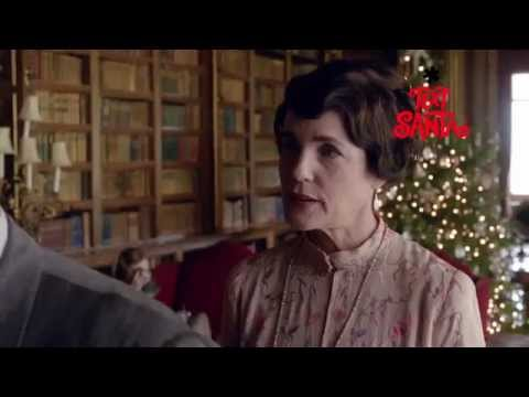 Downton Abbey (Christmas Sketch 'Text Santa' Clip)