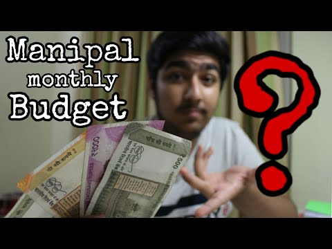 Manipal Monthly Budget ? My Expenses ! How Much Money ? Must Watch For FRESHERS! MIT, KMC Manipal
