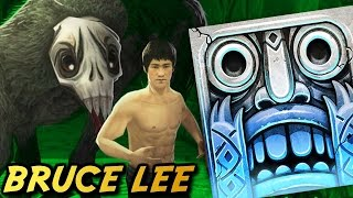 Temple Run 2 - BRUCE LEE on Frozen Shadows ( Gameplay Video )