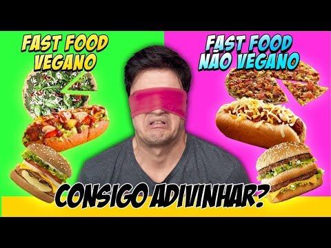 FAST FOOD VEGANO vs. NÃO VEGANO. Consigo acertar?