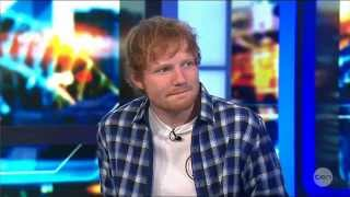 Video Ed Sheeran's BEST Live Australian Tv Interview 25-9-2014 MP3, 3GP, MP4, WEBM, AVI, FLV Februari 2019