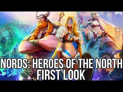 Nords: Heroes of the North (Free Strategy MMO): Watcha Playin'? Gameplay First Look
