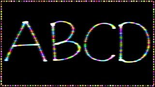 ABCD Rhymes For Children  Alphabet Song  ABC Songs For KindergartenThe Toddlers TV is super excited yet again to release another fun video. Our kids games and kids toys videos will entertain young and old from babies, toddlers, kids, children to parents, boys, girls, basically the entire family and also friends as it will be a surprise to see the how the video finally shapes up. Here we are trying to bring in the edutainment (education + entertainment for kids) factor. We have created neon alphabets for children.The kids will get very engrossed because of the neon handwriting and simultaneously learn ABCD. We have complimented the video with very nice kiddy music. Hope all the kids, babies and children enjoy this