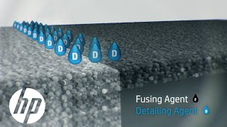 How Fusing and Detailing Agents Work | Jet Fusion 3D Printing | HP