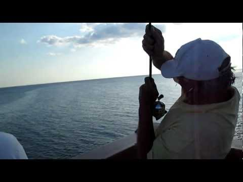 Over Slot Red off Panama City Beach Pier, FL – July 2012
