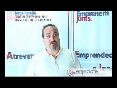 Entrevista a Jorge Perelló, Concejal Personal, ADL y Rég.Interno Ayuntamiento Santa Pola