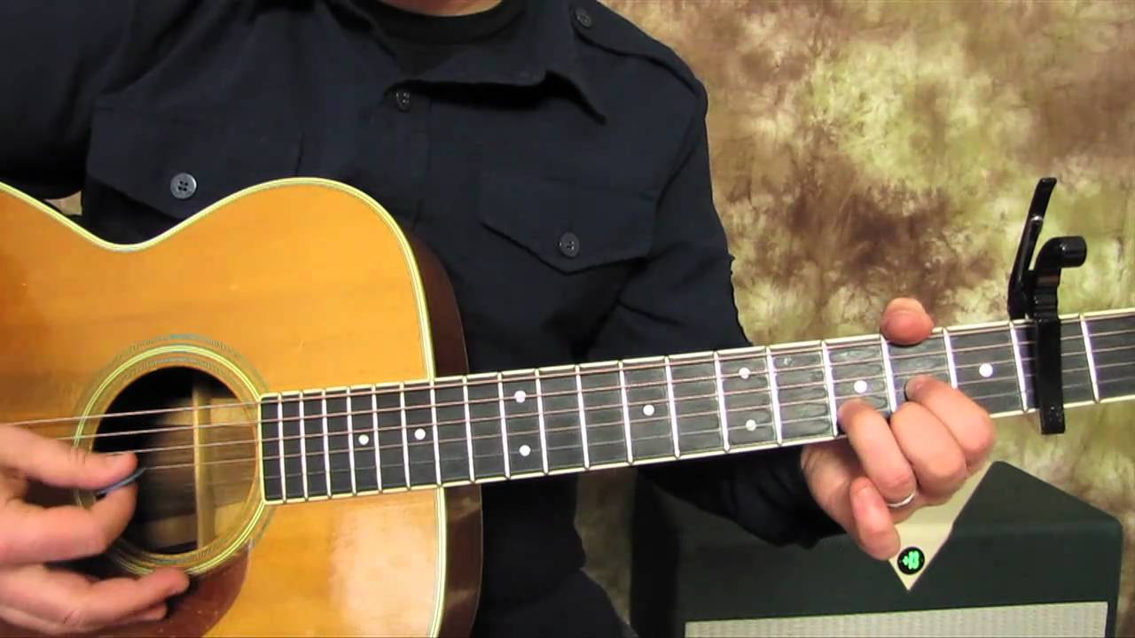 John Denver – Country Roads – Super Easy Beginner Guitar Lessons on Acoustic – How to play