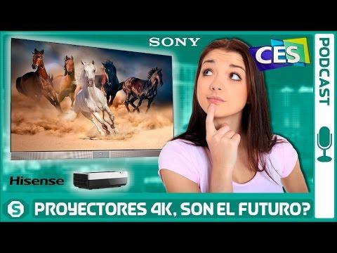 Proyectores de SONY y HISENSE ¿Son el futuro?