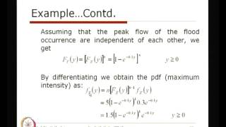 Mod-01 Lec-27 Functions Of Multiple Random Variables (Contd...1)