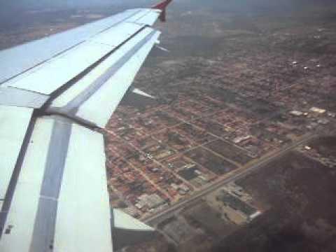 Voo TAM 3306 pousando em Fortaleza - Pinto Martins (FOR)