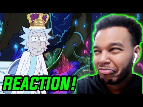 "Rick and Morty Season 4 Episode 2 ""The Old Man and the Seat"" REACTION!"