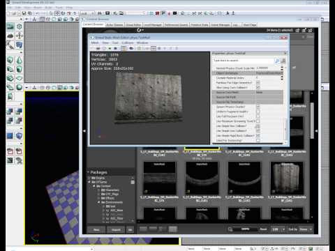 preview-Unreal Development Kit Physx Destructible\'s - UDK Tutorial (raven67854)