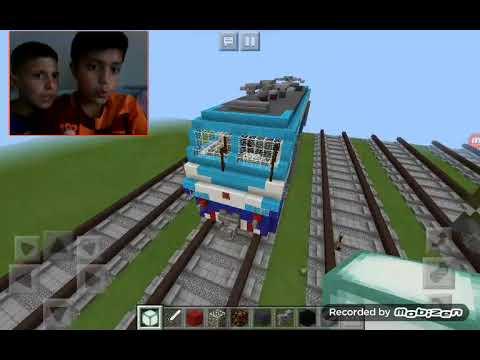 Minecraft tren istasyonu