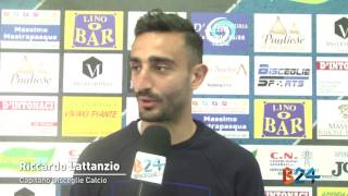 Preview video VERSO NOCERINA - BISCEGLIE: INTERVISTA MR. RAGNO E LATTANZIO