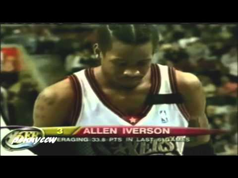 iverson - Allen Iverson scored more than 40 points and the Philadelphia 76ers finally won. Iverson had 15 of his 45 points in the fourth quarter as the 76ers rallied f...