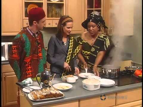 How To Cook perfect rice, Doris Ufoegbune Preparing Jollof Rice on Daytime