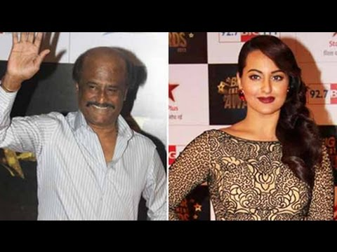 celebrates - Actress Sonakshi Sinha, who will make her Tamil debut with Lingaa, congratulated Rajinikanth, the stalwart of the industry, for completing 40 years of entertaining the masses. She tweeted