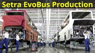 Video Mercedes Setra EvoBus Production MP3, 3GP, MP4, WEBM, AVI, FLV Januari 2019