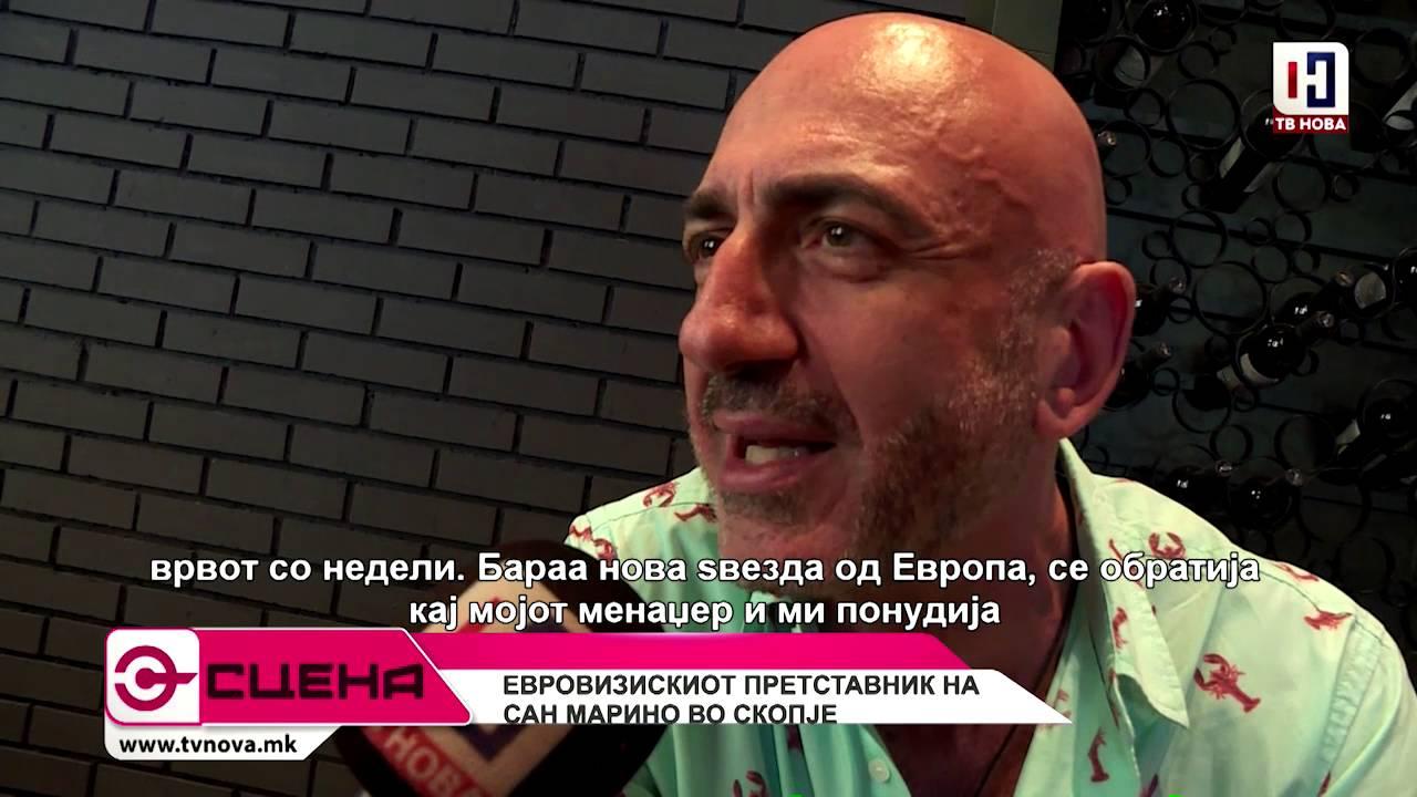 Сцена со Ненад Ѓорѓиевски
