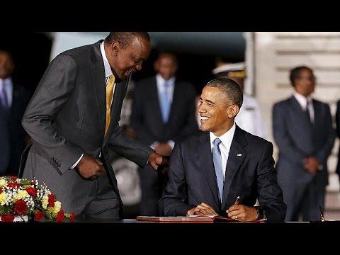 Κένυα: Πρώτη επίσημη επίσκεψη Ομπάμα στη γενέτειρα του πατέρα του