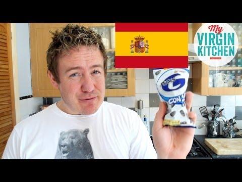 Este americano come algunas chucherías españolas y flipa